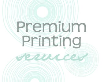 Premium Printing Services...5x7 FOLDED CARDS...have any pre-made or custom design printed by KM Thomas Designs