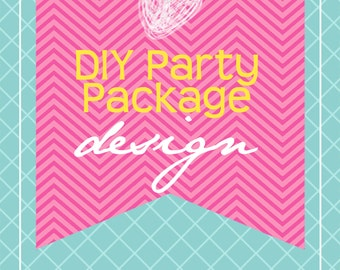 DIY Printable Party Package Design...by KM Thomas Designs