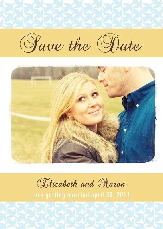 Simple Love - Custom Photo Save the Date