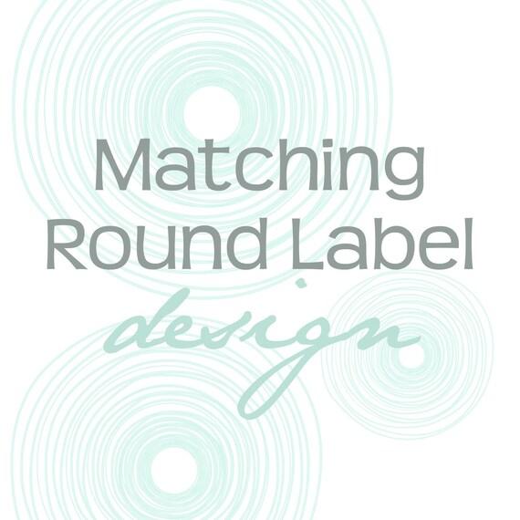 Matching Label Design