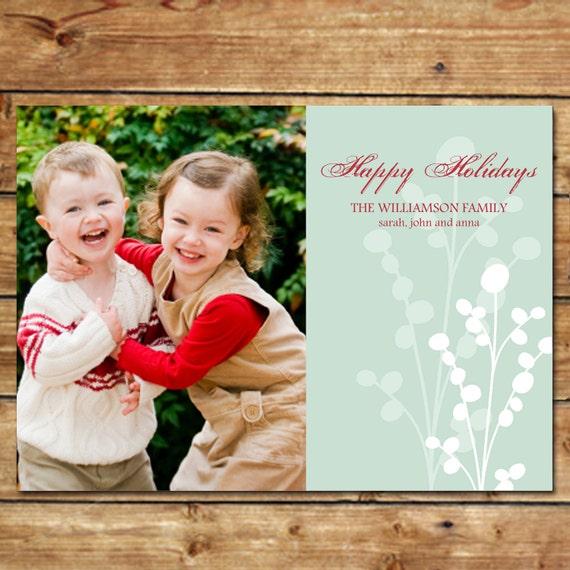 BERRI-DELIGHTFUL...Custom Photo Holiday Cards...by KM Thomas Designs