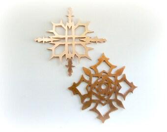 Vampire Knight earrings sterling silver - Cosplay earrings - Metalwork cosplay earrings - Halloween Jewelry