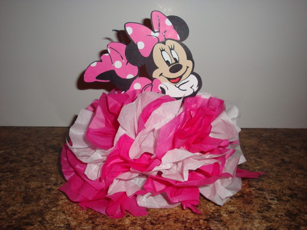 Minnie Mouse Baby Shower Decorations Similiar Diy Minnie Mouse Table Decorations Keywords