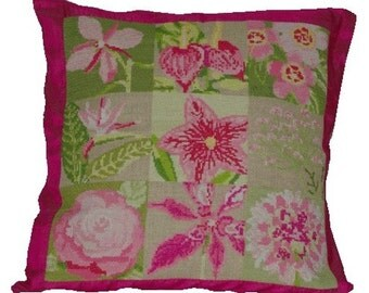 Cross stitch pattern FLORA cross stitch,needlepoint,embroidery,botanical,scandinavian,pillow cover,housewares,swedish,summer,anette eriksson