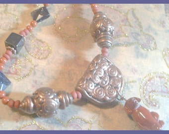 BEADINMAMA'S Dog Lover's Necklace