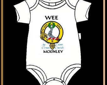 Scottish Clan Crest Baby Jumper - All Clans