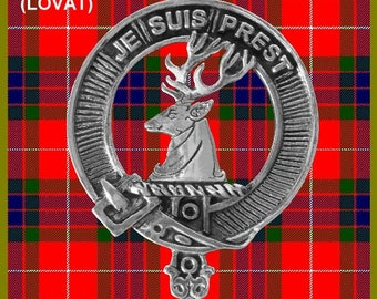Fraser Clan Crest Scottish Cap Badge CB02