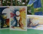 Eucharistic Art - watercolor prints