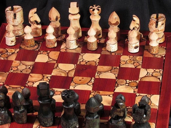 Chess set by Naturalchess