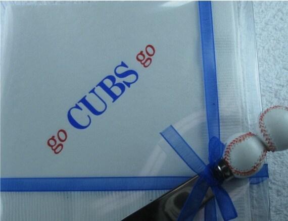 Personalized baseball team 3-ply beverage napkins