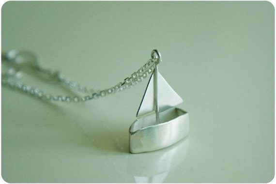 Little Toy Boat Necklace