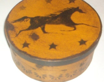 Mustard Horse Shaker Box 106