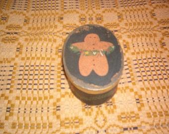 Gingerbread Christmas Box