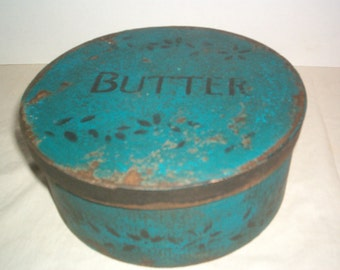 Blue Butter Box