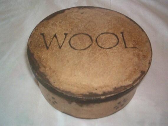 Wool Pantry Box