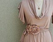 Spring Dress With Secret Garden Belt Bundle Listing