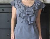 English Rose Ruffle Dress