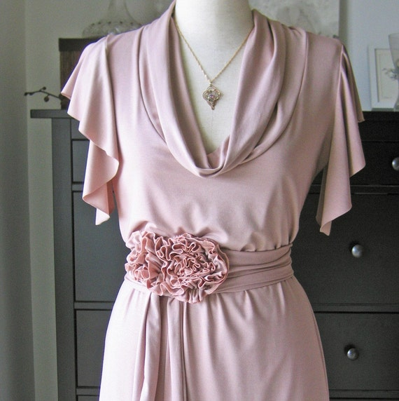 Spring Dress With Secret Garden Belt Bundle Listing