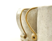Extra Large coffee mugs handmade ceramic stoneware (Set of 2)