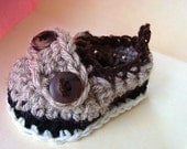 Crochet Pattern, Baby Loafer Shoe, boys -newborn to age 2, num. 457, permission to sell your items