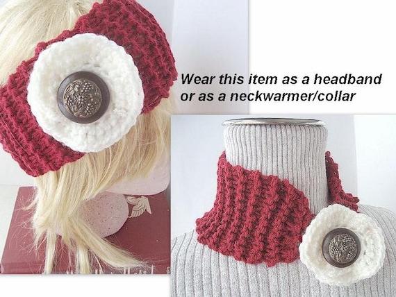 Headband KNITTING pattern, num. 336, Easy BEGINNER knitted ...
