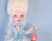 Marie Antoinette - Monster High doll repaint -Let them eat cupcakes - by Marina OOAK