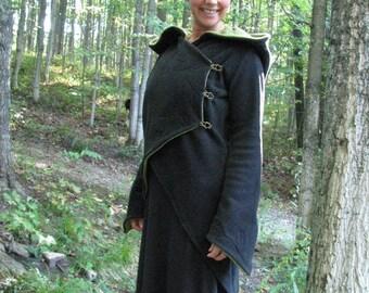 Fleece Fae Faery Fairy Jacket Made to order