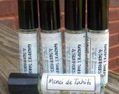 Monoi de Tahiti - Perfume Oil - 10mL Glass Roll-On Bottle