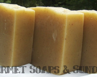 Brown Sugar and Fig with Ground Vanilla Bean Gourmet Soap Bar - 5 oz