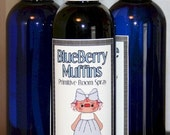 Prim Room Spray - BLUEBERRY MUFFINS - Home Decor Perfume Spray (4 oz)