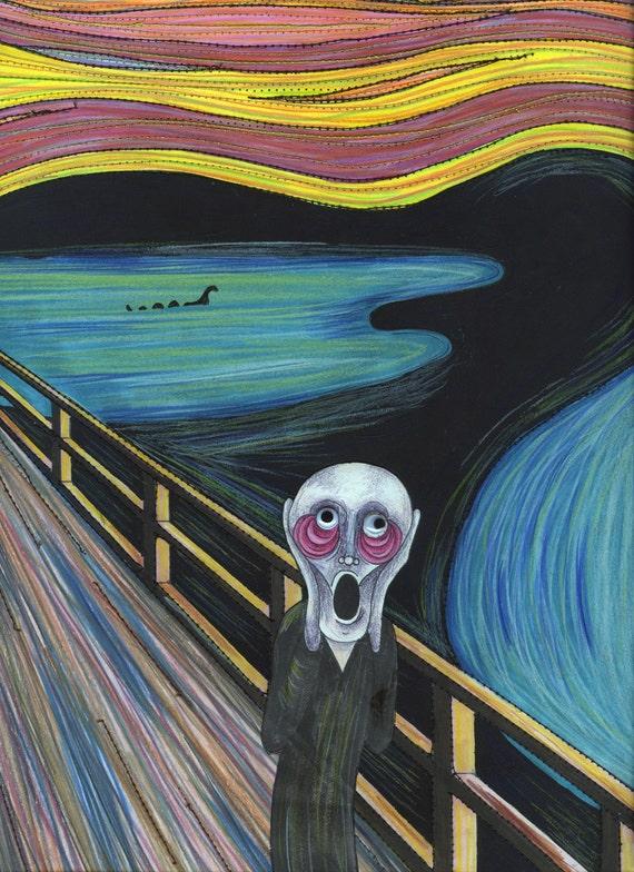 the scream interpretation