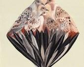 Dove Diamond - Original painting