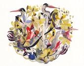 Gilded Nest - Archival Print