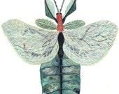 Leaf Bug - Original Painting