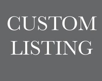 Custom Listing hazelorganics