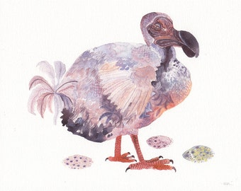 Dodo - Archival Print