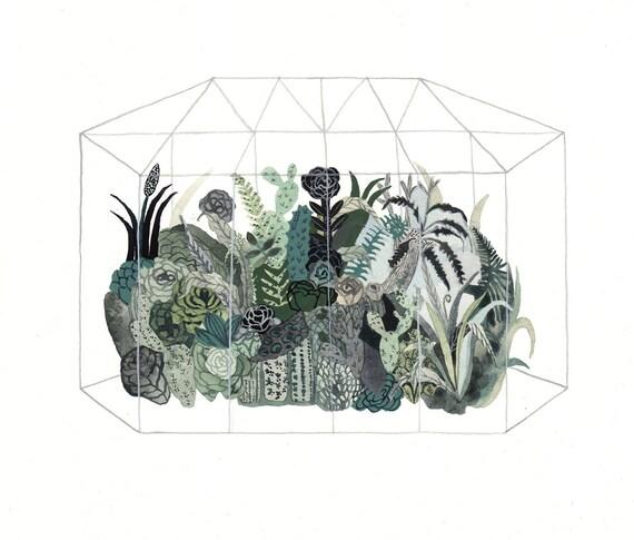 Greenhouse - Original painting