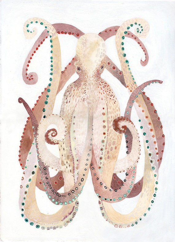 Octopus - Original painting