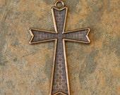 Bronze Cross Pendant