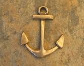 Bronze Anchor Pendant