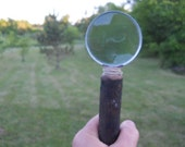 Shagbark Hickory Wood Magnifying Glass Rustic Beauty Perfect for Gifts, Nature Lovers, Coin Collectors,   and the Over 50 Crowd