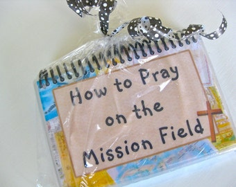How to Pray on the Mission Field, Spiral-Bound, Laminated Prayer Cards