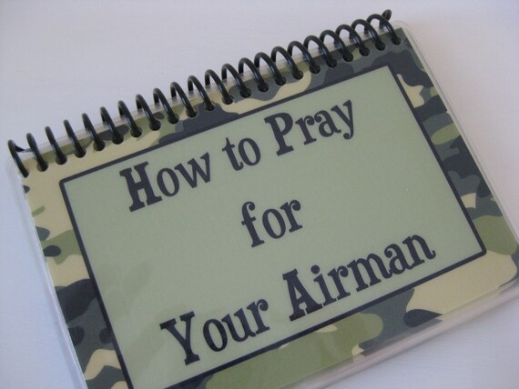 How to Pray for Your Airman, Spiral-Bound Laminated Prayer Cards