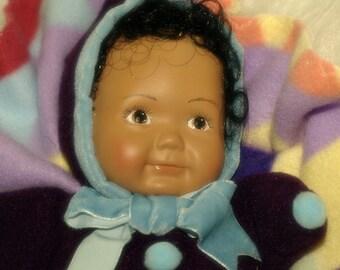 AK Blanket Puppet Ceramic Doll