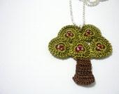 Little Apple Tree Necklace