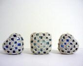 Granny Square Love - Crochet Lace Glass Marbles