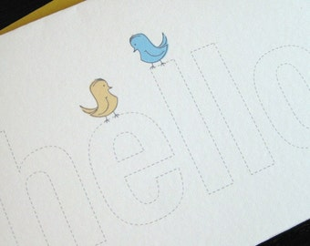 color me hello notecards