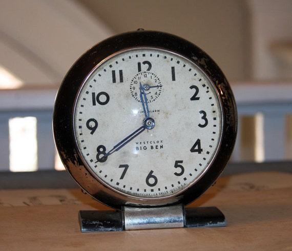 Westclox BIG BEN Clock with nice graphics