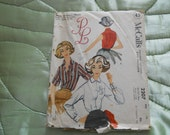 Vintage1957 McCall's MONOGRAM Blouse Sewing Pattern 2207