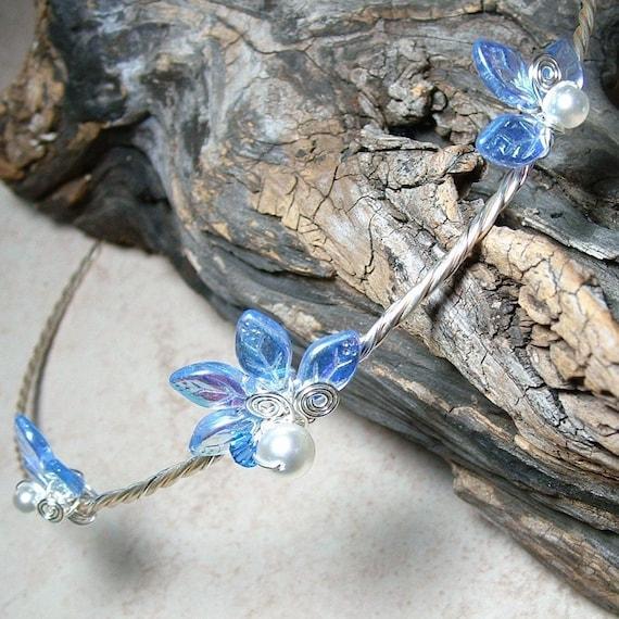 Sapphire and Ice Princess Tiara Something Blue